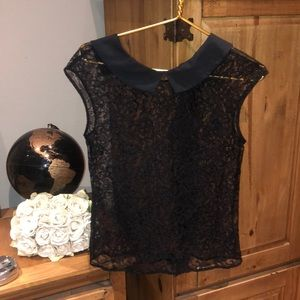 Express Lace Top with neck